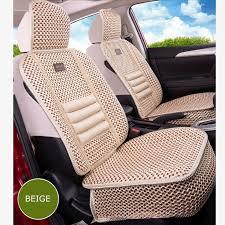 <b>KKYSYELVA</b> 1pcs Front Universal <b>Car seat</b> Cover Summer Lumbar ...