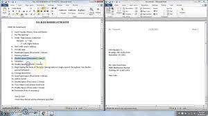 microsoft word full block business letter notes s microsoft word full block business letter notes s