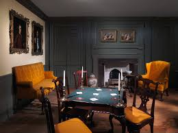 american n interiors mid eighteenth century period rooms woodwork of a room from the colden house coldenham