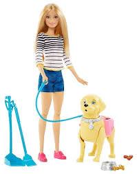 Кукла <b>Barbie</b> Прогулка с <b>питомцем</b>, 29 см, DWJ68 — купить по ...