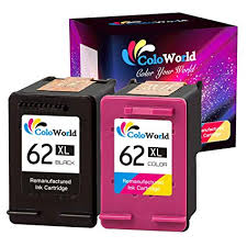 ColoWorld <b>62XL</b> Remanufactured <b>Ink</b> Cartridge Replacement for <b>HP</b> ...
