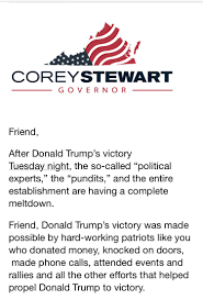 garrett haake on after being fired by realdonaldtrump garrett haake on after being fired by realdonaldtrump campaign for anti rnc protest coreystewartva now raising money for va gov bid off trump