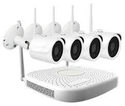 <b>Комплект видеонаблюдения IVUE</b> W5004-1080-B4 4 камеры ...