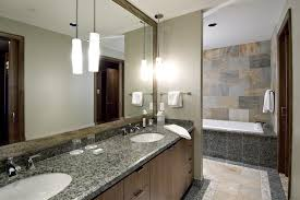 marvelous interceramic tilein bathroom contemporary with prepossessing large mirror next to lovely bathroom wall tiles alongside pretty pendant light over bathroom pendant lighting double vanity