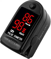 House Supplies Black <b>Blood</b> Oxygen Saturation <b>Monitor</b> for Pulse ...