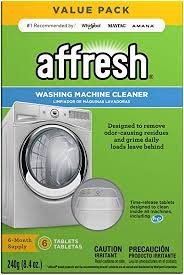Affresh W10501250 Washing Machine Cleaner, 6 ... - Amazon.com