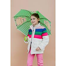 <b>Зонт</b>-трость детский, сплав, пластик, ПВХ, длина 47см, 8 спиц, <b>4</b> ...