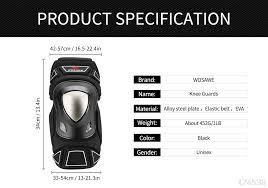 <b>WOSAWE Motorcycle</b> Knee <b>Elbow</b> guard Motocross Knee Protection ...