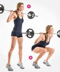 Image result for woman goblet squat workout