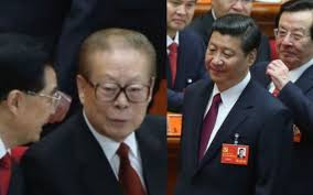 Image result for Pictures of Xi Jinping and Jiang Zemin
