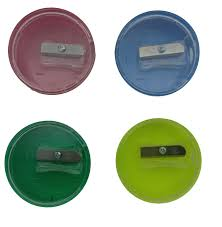 <b>Точилка</b> EISEN (Германия), с контейнером, <b>круглая</b>, цвет ассорти ...