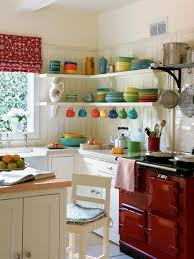 small space kitchen ideas:  ci farrow and ball the art of color pg white kitchen colorful dishware xjpgrendhgtvcom