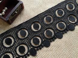 Graceful Circle <b>Lace</b>, Vintage Black <b>Lace</b> Trim, Black <b>Lace</b> Dress ...