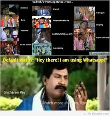 Mokkasite » Post Free ads » Vadivelu's whatsapp status via Relatably.com