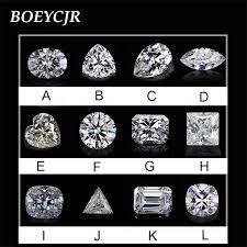 BOEYCJR 1.5ct <b>7.5mm</b> F <b>Color</b> Round Brilliant Cut Moissanite ...