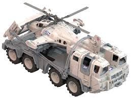 Набор техники <b>Нордпласт Военный</b> тягач Арктика с <b>вертолетом</b> ...