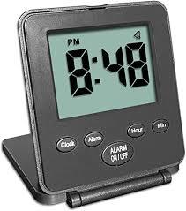 Digital Travel Alarm Clock - No Bells, No Whistles ... - Amazon.com