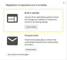Connecting to Squarespace from Google Domains
