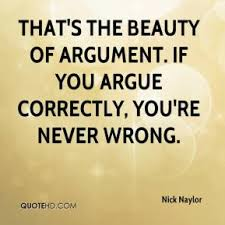 Image result for argument quote