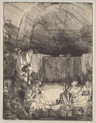 rembrandt van rijn prints essay heilbrunn the entombment
