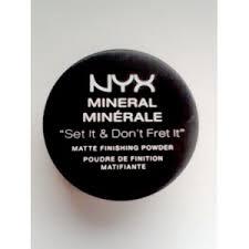 Минеральная пудра <b>NYX Professional Makeup</b> рассыпчатая ...