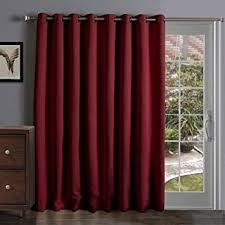 funtion curtain wide thermal blackout patio door