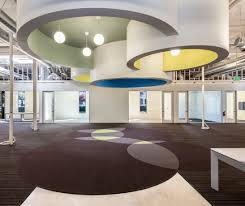 featured projects vulcan construction inc project includes conference rooms training room specialty video and sound studio interior design awesome office ceiling design