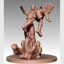 Download 3D <b>printing</b> models Hisoka Vs Gon <b>Hunter x Hunter</b> ・ Cults