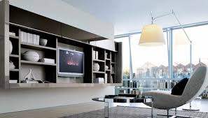 neutral contemporary living spaces built ins built living room