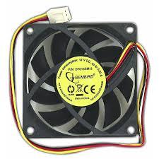 Купить <b>Вентилятор</b> 12 вольт 70 x 15 втулка скольжения 3pin 25см ...