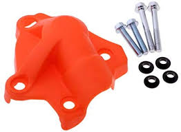 Blesiya 4X Orange <b>Water</b> Pump <b>Cover</b> + <b>Clutch</b> Case <b>Cover</b> for KTM ...