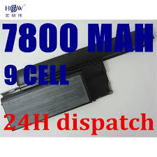 <b>HSW</b> 7800mah <b>9cells Laptop Battery</b> For Dell Latitude D620 D630 ...