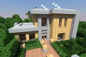 Modern Minecraft Houses   Nerd ReactorMinecraft   modernhouse