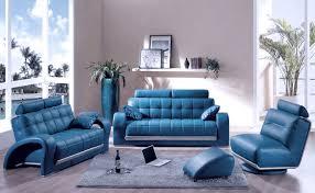unique designed blue leather sofa unique designed blue leather sofa at minimalist living room blue couches living rooms minimalist