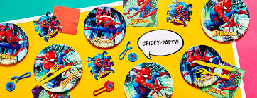 <b>Spider-Man Party Supplies</b> | Woodies Party