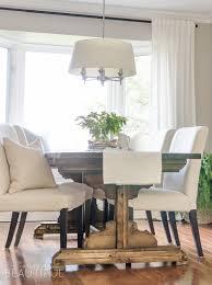 beautiful farmhouse dining table design