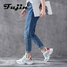 <b>Fujin women vulcanized shoes</b> spring autumn summer air mesh ...