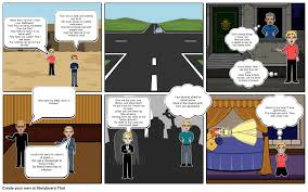 romeo and juliet comic strip act scene storyboard choose how to print this storyboard