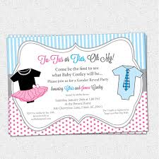 gender reveal party invitation template com gender reveal party invitation template a artistic design to be your inspiration in making the party invitation card 3