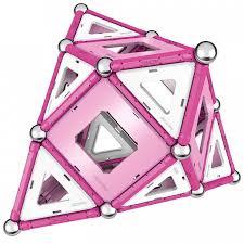 Купить <b>Конструктор Geomag магнитный</b> Pink 104 детали в ...