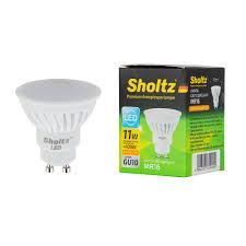 <b>Лампа светодиодная Sholtz</b> 11 Вт GU10 рефлектор MR16 2700 К ...