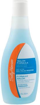 <b>Sally Hansen Salon Formula</b> Polish Remover, Fast Acting 8 oz ...