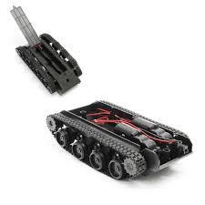doit bluetooth wifi control smart robot tank car compatible with arduino uno motor drive diy rc toy metal caterpillar chassis
