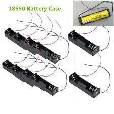 Buy <b>10 Pcs</b> New 18650 Battery 3.7V Clip Holder Box With Lead at ...