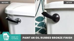 How to Paint an <b>Oil</b> Rubbed Bronze Finish - YouTube
