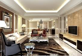 european ceiling living room design