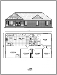 bedroom ranch house plans medem