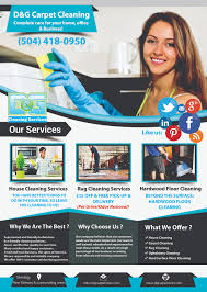 d g carpet cleaning flyer marketing d carpets and d g carpet cleaning flyer