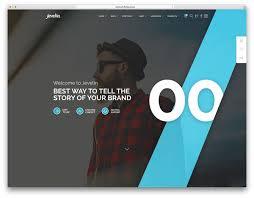 brilliant wordpress themes for designers colorlib jevelin creative agency wordpress template