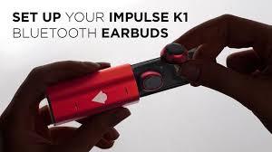 The IMPulse <b>K1</b> BLUETOOTH <b>EARBUDS</b> | Bluetooth <b>earbuds</b> ...